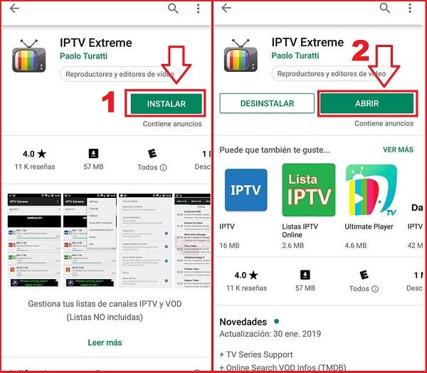 instalacion iptv extreme paso 4